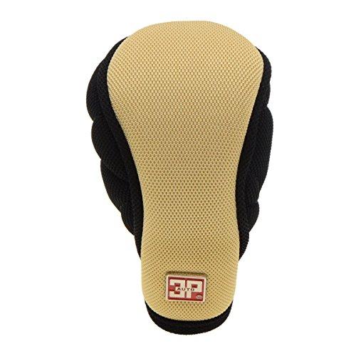 Universal Gear Shift Knob Cover Sleeve Anti Slip Nylon Auto Gear Shift Knob Cover Protector Black Beige Zipper Closure