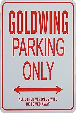 Funparkingsign Goldwing Parkplatz Nur Zeichen Auto