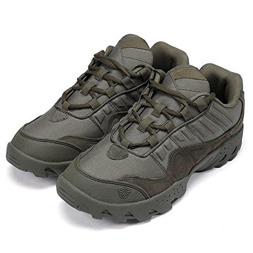Men Tactical Boots Low Desert Men Green Top Alpinista Showlovein Army Outdoor PB4qdBw