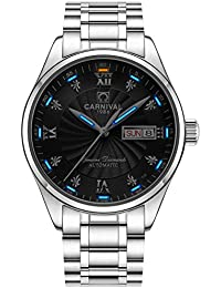 Men's Wrist Watches Automatic Mechanical with Luminous Tritium