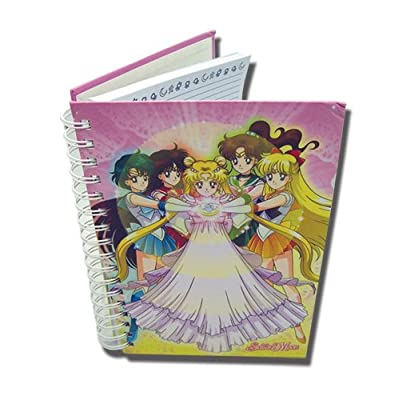Great Eastern Entertainment Sailormoon Moon Dress Hardcover Notebook: Toys & Games