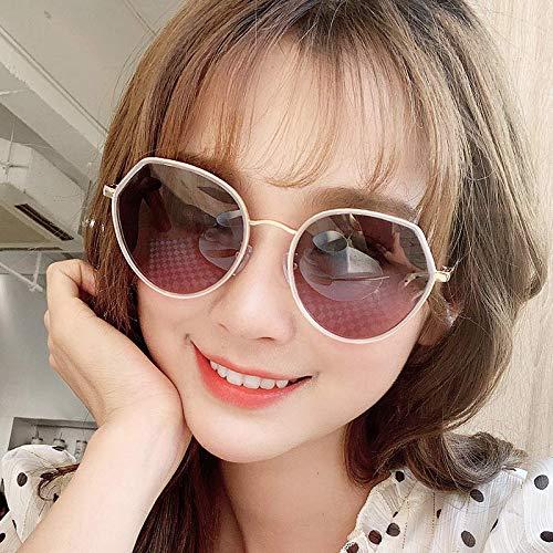 2019 Nuevas gafas de sol Mujer polarizada anti-ultravioleta ...
