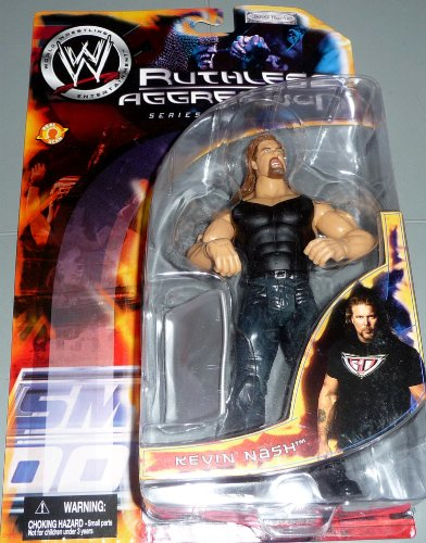 WWE Wrestling Ruthless Aggression Series 5 Action Figure Kevin Nash