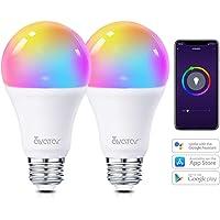 Bombilla Inteligente E27 WIFI de 8W LED Compatible