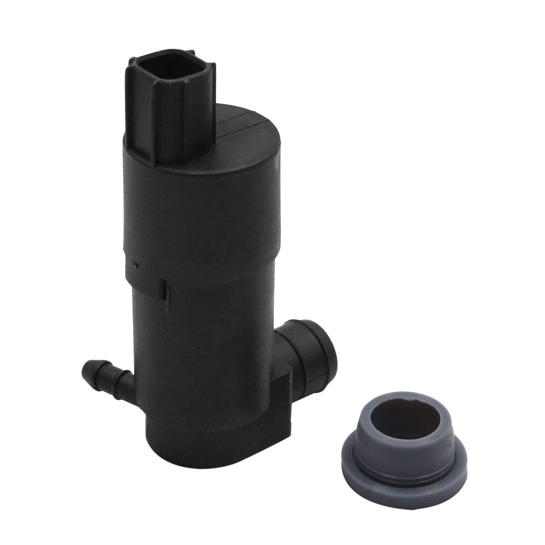 uxcell Plasitc 2 Terminal Windshield Wiper Washer Fluid Pump w Grommet for Ford 2012