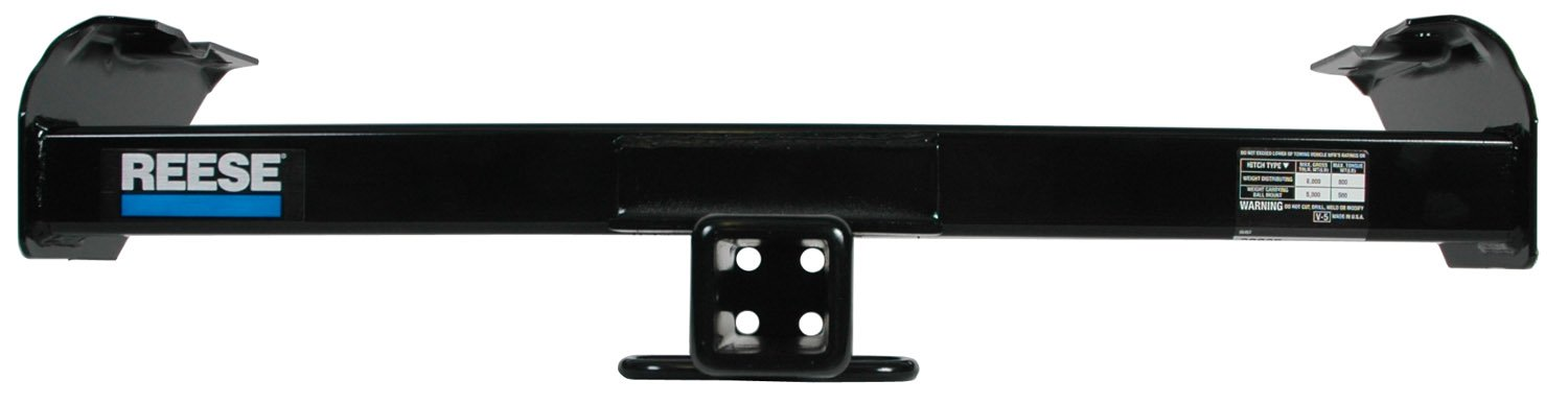 includes Hitch Plug Cover Reese Towpower Reese 33065 Class III Custom-Fit Hitch with 2 Square Receiver opening