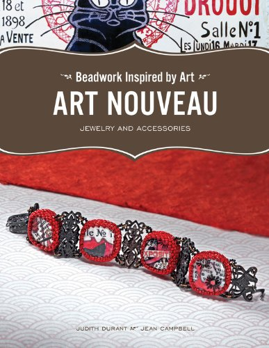 Risultati immagini per Beadwork Inspired by Art Art Nouveau