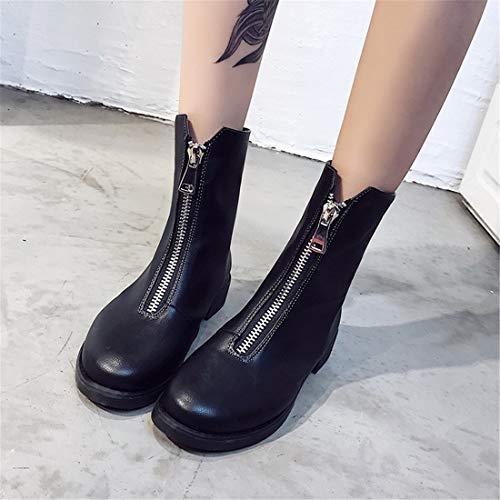 british bassi Stivali da amore scarpe black Sandalette da donna Scarpe donna DEDE stivali e stivali qx7fn1wZWa