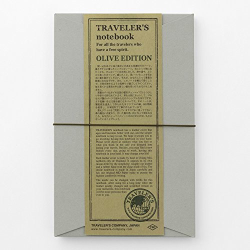 MIDORI TRAVELER'S notebook OLIVE EDITION 2017 Limited Photo #4
