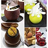 3D Sphere Silicone Mold, Round Mousse Cake Baking