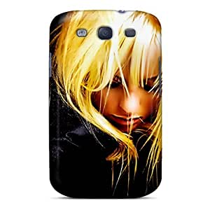 New Diy Design Blonde Woman For Galaxy S3 Cases Comfortable For Lovers And Friends For Christmas Gifts