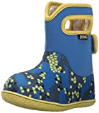 rain boot bogs - Bogs Baby Waterproof Insulated Toddler/Kids Rain Boots for Boys and Girls, Axel Print/Blue/Multi, 4 M US Toddler