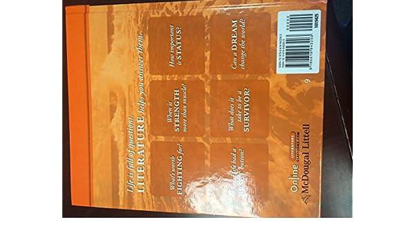 Mcdougal Littell Literature Grade 9 Mcdougal Littell