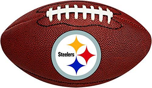 Creative Converting Pittsburgh Steelers Football-Shaped Decorative Logo Cutout