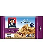 Quaker Oatmeal Cookies, Raisins, 162g