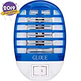 GLOUE Bug Zapper Electronic Mosquito Zapper Electronic Insect Killer Eliminates Most Flying Pests-Latest