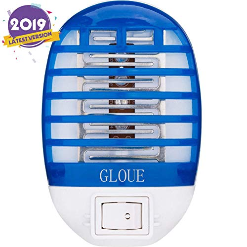 GLOUE Bug Zapper Electronic Mosquito Zapper Electronic Insect Killer Eliminates Most Flying Pests