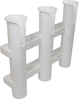 White 3-Rack Adjustable Rod Holder for Boat, Kayak, SUP, Canoe [SeaSense] Picture