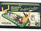 Football Fan Tailgate Party 4 piece Bundle: Party Games, football cowbell and Handwarmers