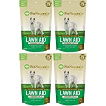 Pet Naturals Lawn Aid Dog Chews - 240 Total (4 Packs with 60 per pack)