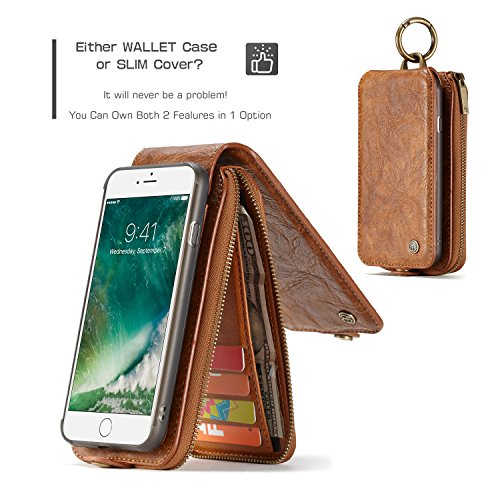 12f1fdb13144 Cases, Covers & Skins - CaseMe iPhone 8 Plus/iPhone 7 Plus Leather ...
