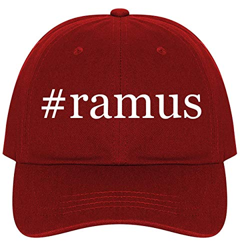#Ramus - A Nice Comfortable Adjustable Hashtag Dad Hat Cap, Red