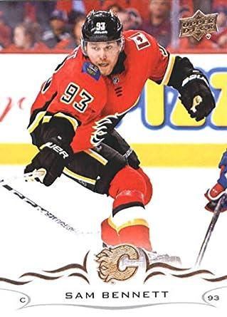 49850a577 Amazon.com  Hockey NHL 2018-19 Upper Deck  28 Sam Bennett Flames ...