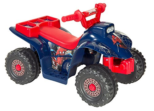 Spider-Man Little Quad Battery Operated Riding Toy