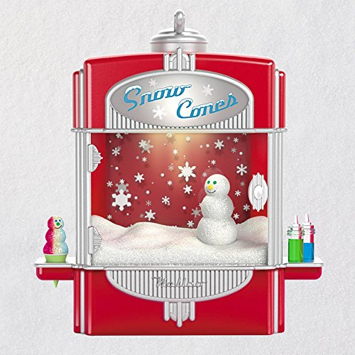Hallmark Keepsake Christmas Ornament 2018 Year Dated, Syrupy Snow Cone Surprise With Music, Light and ()