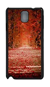Autumn Polycarbonate Hard Case Cover for Samsung Galaxy Note 3/N9000 Black