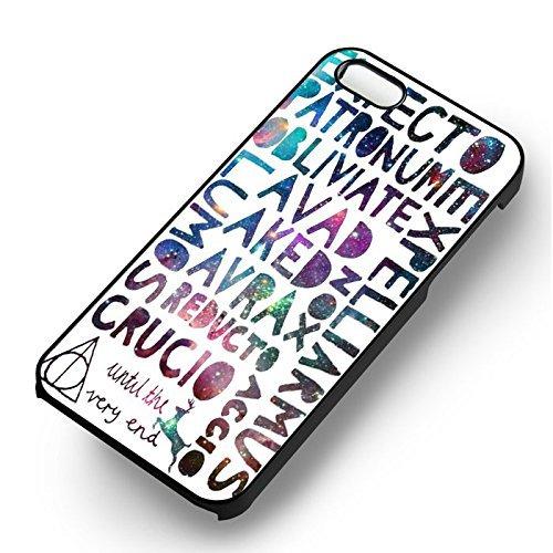 Always Harry Potter Galaxy pour Coque Iphone 7 Case (Noir Boîtier en plastique dur) J4Q2PT