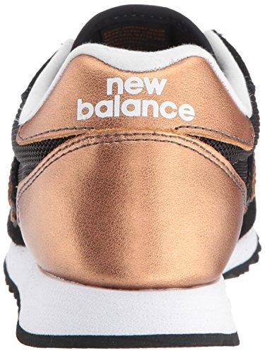 Nye Balance Damer Wl520 Atletik Sko Sort - Guld - Hvid 9zQcR