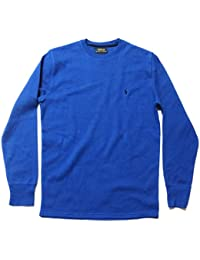 Polo Ralph Lauren Men's Crew Neck Long-sleeved Waffle Knit T-shirt Thermal