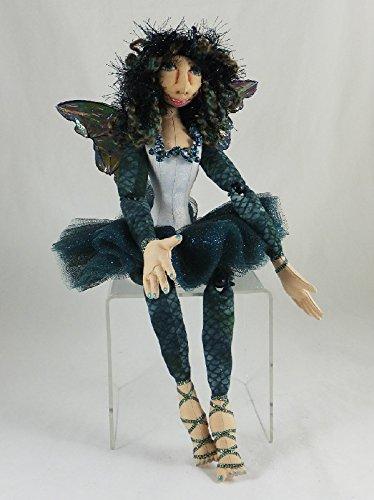 Cloth Doll Fairy, Sloan the Faery Art Doll, OOAK Doll, Handmade Doll, Collector Doll