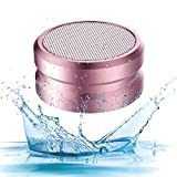 IPX5 Waterproof Bluetooth Speaker Box - YOREN Portable Mini Outdoor Wireless Speaker with HiFi Enhanced Bass, TF Card, FM and Ultrasonic Wave to Repel Mosquito,10 Hours Long Playtime Bluetooth Speaker
