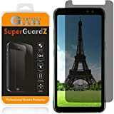 [2-PACK] Samsung Galaxy S8 Active [NOT For Samsung S8 / S8+] Privacy Screen Protector Tempered Glass [Anti-Spy], SuperGuardZ, 9H Anti-Scratch, 2.5D Round Edge, Anti-Bubble [Lifetime Replacements]