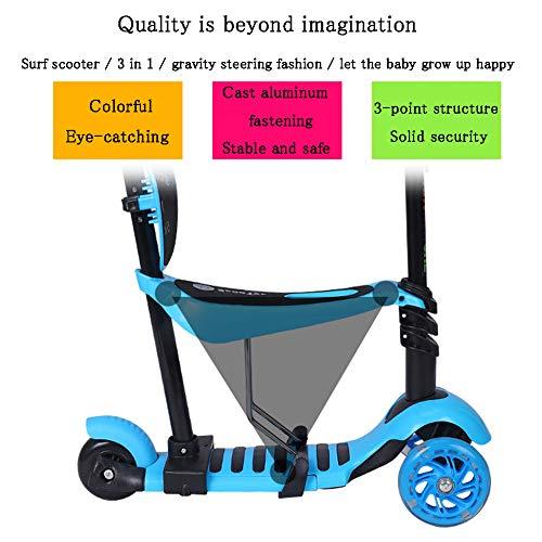 Pedaleador de 3 ruedas para niños, cochecito de bebé multifunción ...