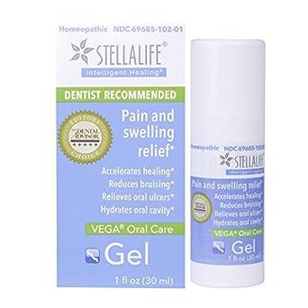 StellaLife VEGA Oral Gel: Dry Sockets, Dry Mouth, Teeth