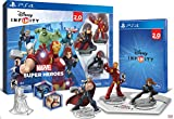 PlayStation 4 500GB Console - Uncharted: The Nathan Drake Collection Bundle (Physical Disc) With Disney INFINITY: Marvel Super Heroes (2.0 Edition) Video Game Starter Pack
