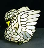Tiffany Swan Accent Table Lamp