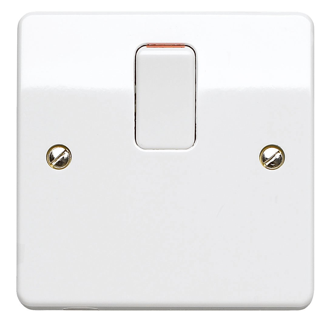 Mk K5403whi 20 Amp Double Pole Switch Diy Tools Wiring Up A Dimmer Uk