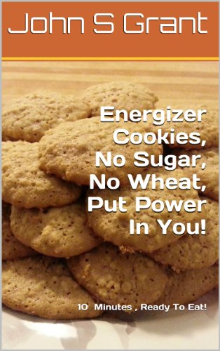 Energizer Cookies,  No Sugar, No Wheat,  Put Power In You! (Energizer Herbal)