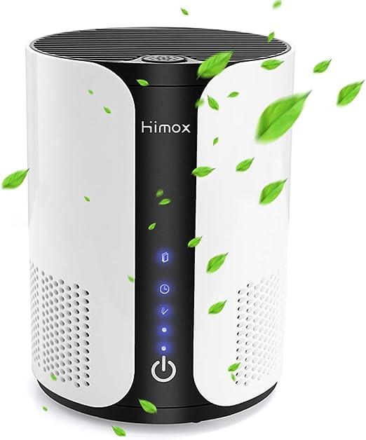 Himox Purificador de Aire para Alergias en el Hogar,Filtro HEPA y ...