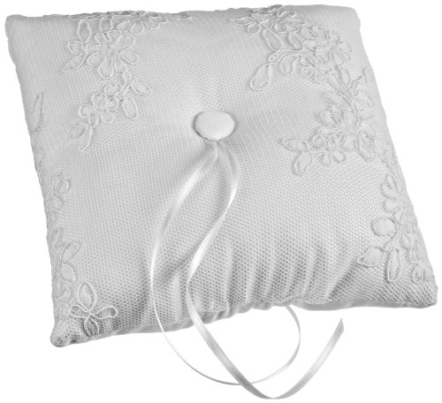 Modern Ring Pillows : Wilton 120-1129 Modern Lace Ring Bearer s Pillow Religious Ceremonial Wedding Ceremony Supplies ...