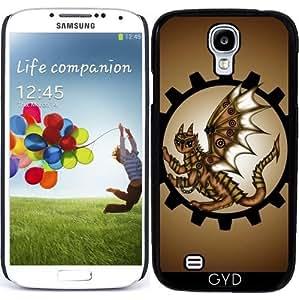 Funda para Samsung Galaxy S4 (GT-I9500/GT-I9505) - Dragón Steampunk by Pezi Creation