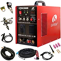 Lotos Pilot Arc Dual Voltage Plasma Cutter and 200A Tig/Stick Welder
