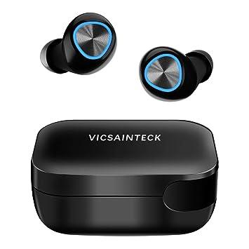 Auriculares Inalambricos Bluetooth V5.0, Auriculares Bluetooth ...