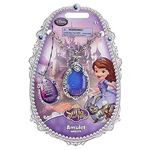 Sofia the First Light-up Amulet Disney Princess -