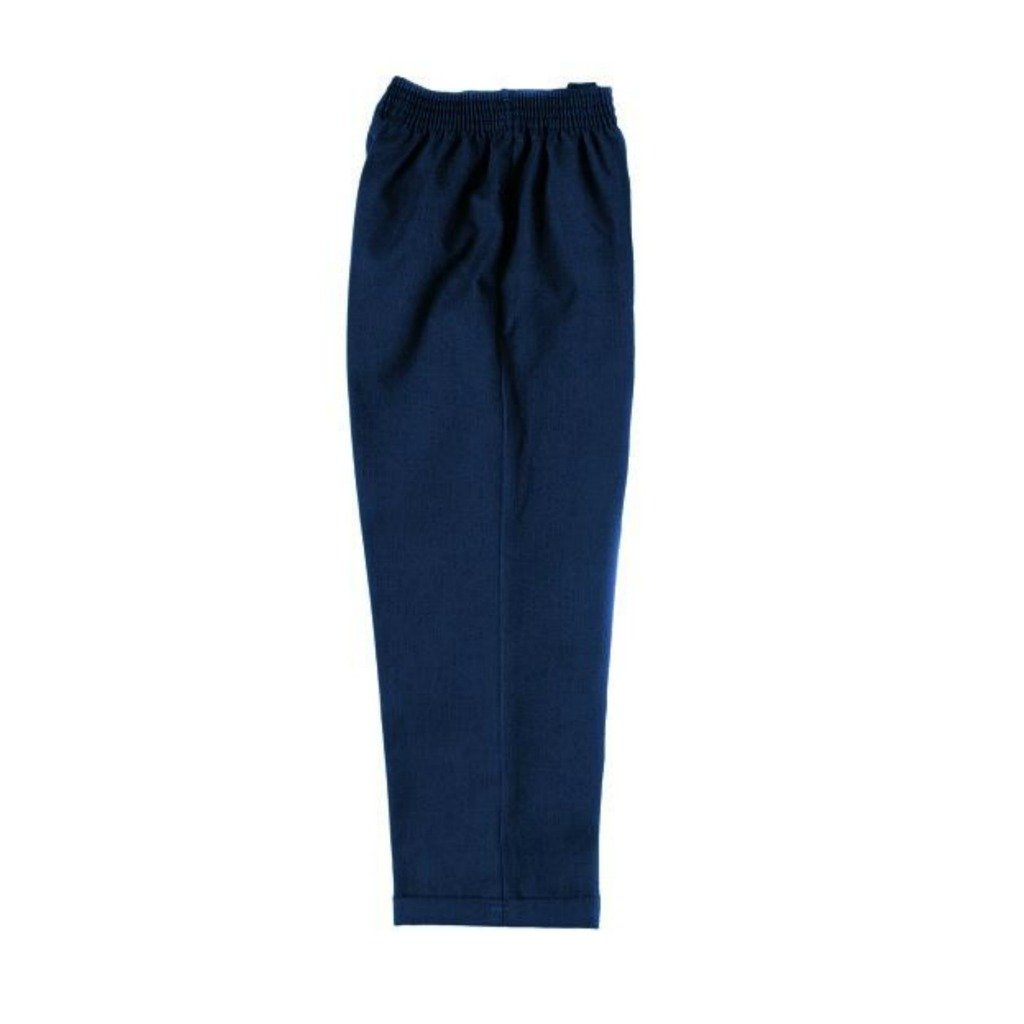 Pull Up Fully Elasticated School Trousers, ages 2-12 in Black, Grey and Navy