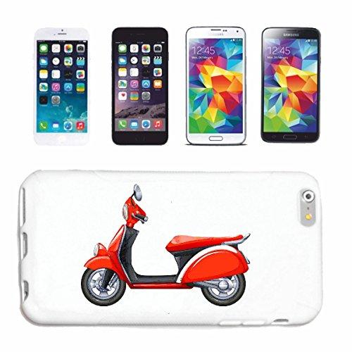 """cas de téléphone iPhone 7 """"SCOOTER RETRO RACE RACING FORMULA MOTOR SPEEDWAY ÉQUIPE SPEED CLASSIC AMERICAN"""" Hard Case Cover Téléphone Covers Smart Cover pour Apple iPhone en blanc"""
